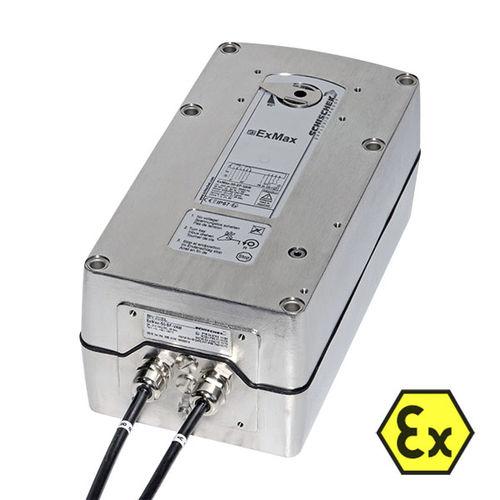 Edelstahl-Klappenantrieb / elektrisch / 90° / 90°-Dreh