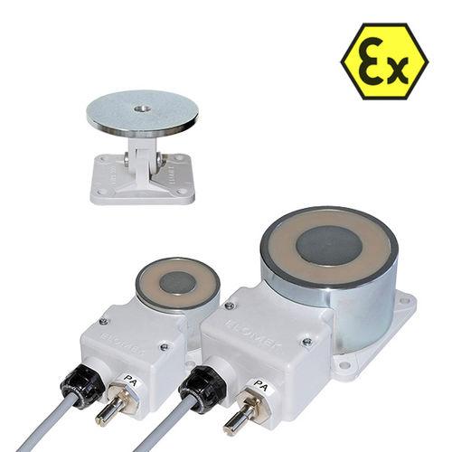 Elektro-Haftmagnet / für Türen / ex-geschützt / 24-Volt