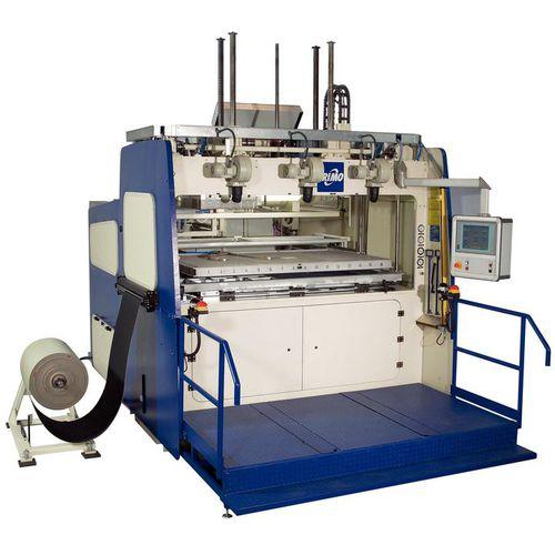Platten-Thermoformmaschine / für Kunststoff-Hohlkörper / Labor / automatisiert