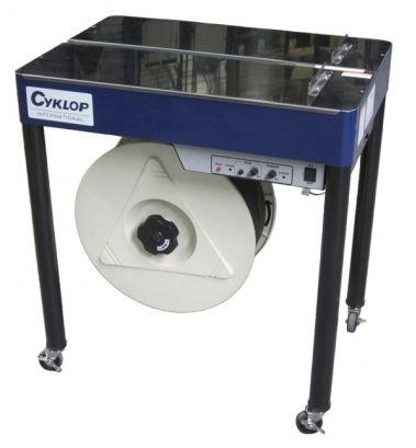 halbautomatische Umreifungsmaschine / Spulen / vertikal