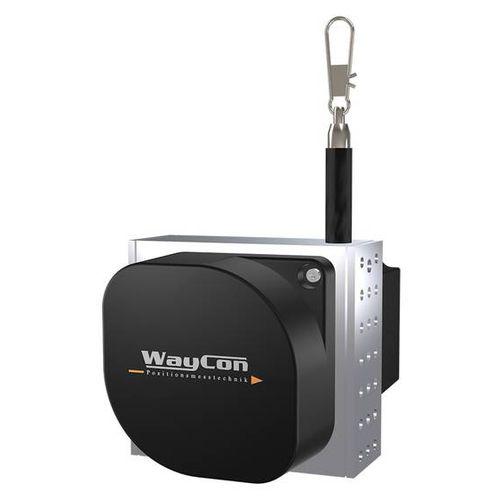 Seilzug-Wegaufnehmer / Potentiometer / digital / für rauhe Umgebung