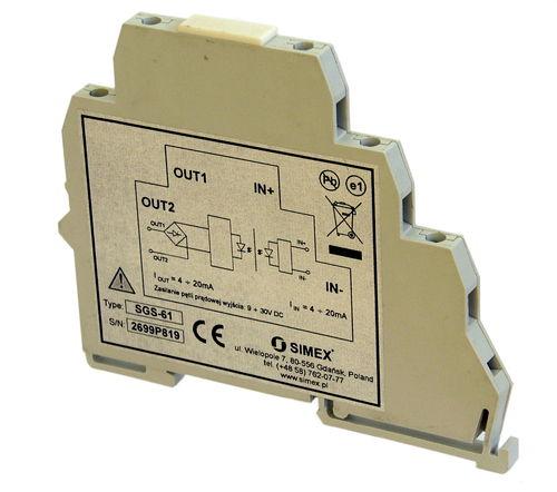 Temperaturmessumformer für DIN-Schienen / RTD / 4-20 mA / USB