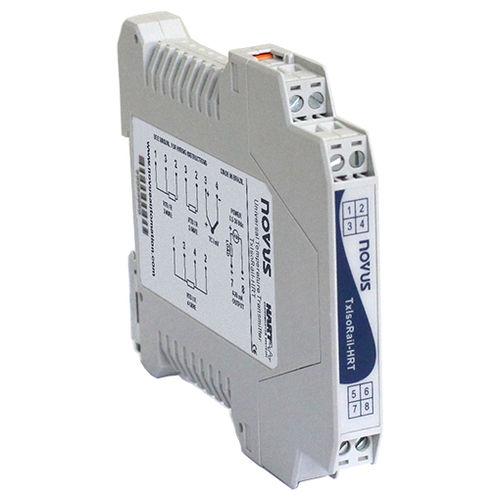 Temperaturmessumformer für DIN-Schienen / HART / 4-20 mA / differential