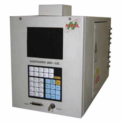Detektor für brennbare Gase / Gas / Flammenionisation / Überwachung