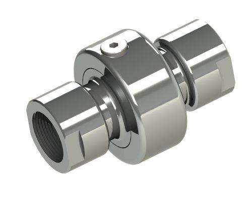 Schraubanschluss / gerade / hydraulisch / frei orientierbar