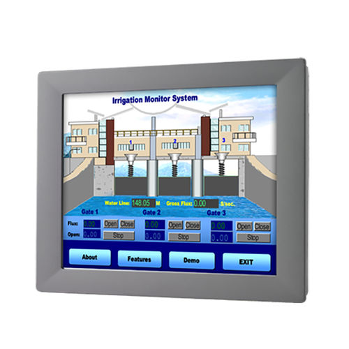 LCD-Monitor / mit resisitivem Touchscreen / mit LED-Rückbeleuchtung / 21.5
