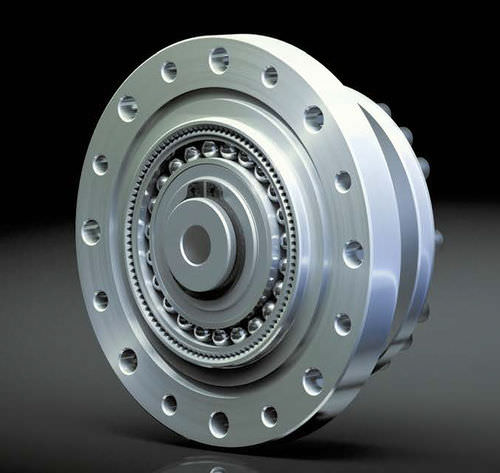 Wellgetriebe / Koaxial / Hohlwelle / für Servomotor