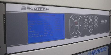 Methan-Analysator / Gesamt-Kohlenwasserstoff / Konzentration / Benchtop