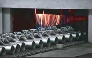 Ofen für Lötrzwecke / Tunnel / Gas / unter kontrollierter Atmosphäre