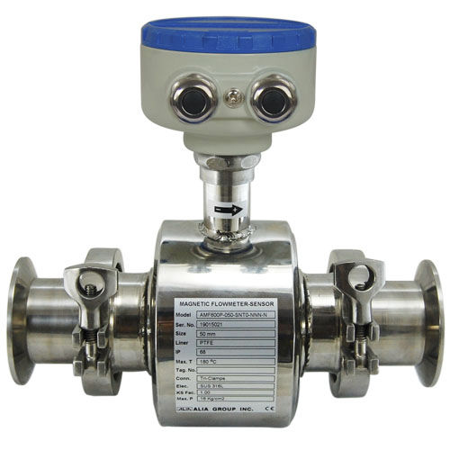 Durchflussmesser für Flüssigkeiten / kompakt / Edelstahl / PTFE