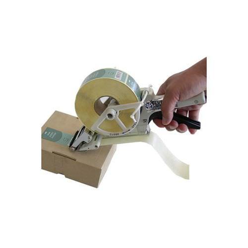 manueller Spender / Klebeetiketten