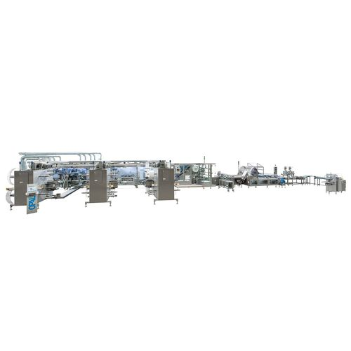 Verpackungsanlage für Verbandmaterial / vollautomatisch / für die Pharmaindustrie