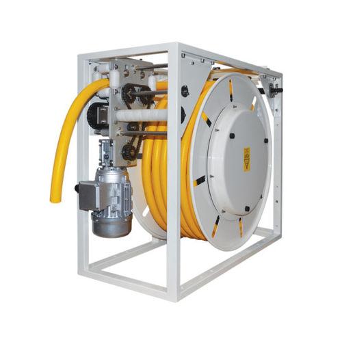Aufwickler für Elektrokabel / motorisiert / feststehend / für Schifffahrtsanwendungen