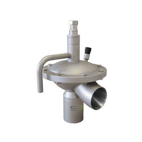 Membranventil / pneumatisch gesteuert / Druckregel / für flüssige Lebensmittel und Getränke