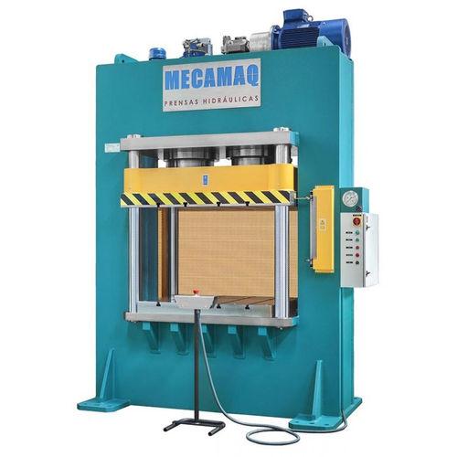 hydraulische Presse / Form / vertikal