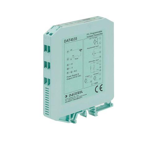 Temperaturmessumformer für DIN-Schienen / RTD / Thermoelement / Widerstand