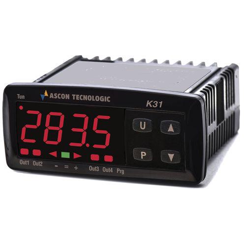 digitaler Temperaturregler / LED-Doppelanzeige / PID / programmierbar
