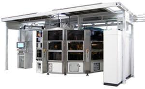 automatische Siebdruckmaschine / servogesteuert / 7-Farben / für Kunststoffrohre