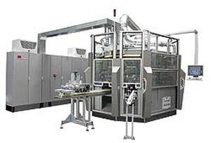 servogesteuerte Siebdruckmaschine