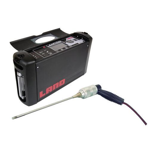 tragbarer Analysator / Rauchgas / Multigas / Verbrennung