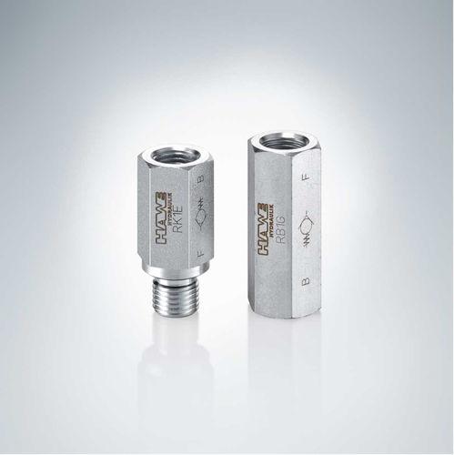 hydraulisches Rückschlagventil / gesteuertes Inline / Siebkorb