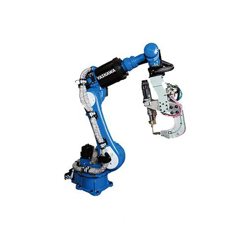 Punktschweißroboter / Knickarm / 6-Achs / für die Automobilindustrie