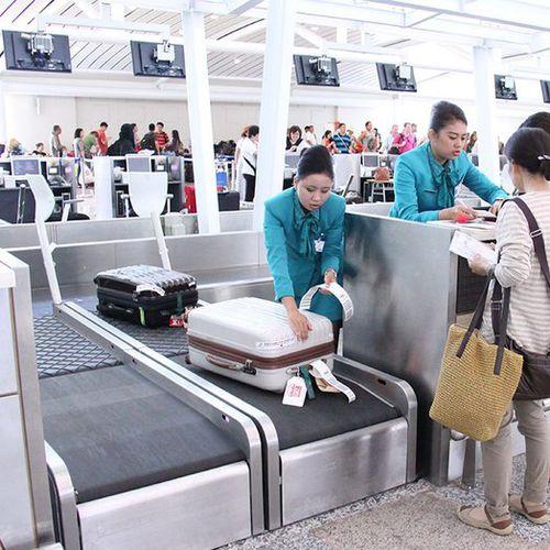 Bandförderer / Gepäck / modular / für das Gepäckhandling