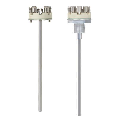 Widerstand-Temperatursensor / Mantel / ex-geschützt / federnd