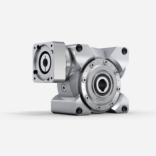 Schnecken-Servogetriebe / Winkelumlenkung / Präzision / mit geringem Spiel