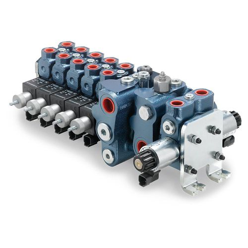 Mehrweg-Verteilerblock / Metall / modular / hydraulisch