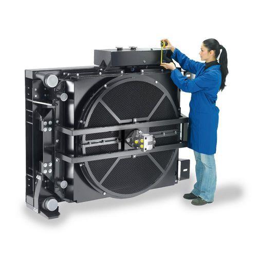 Aluminium-Wärmetauscher / für Industrieanwendungen / für Landwirtschaftsmaschine / für Verdichter