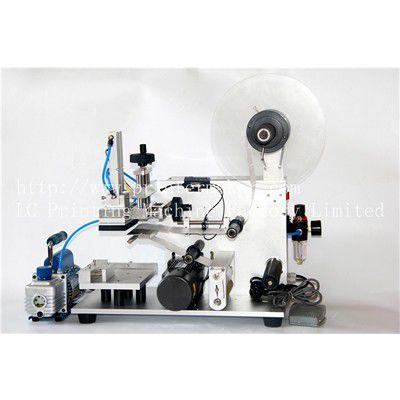 halbautomatische Etikettiermaschine