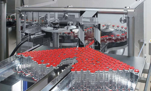 Traypacker für Flaschen / für die Pharmaindustrie