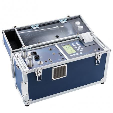 Analysator für Abgas / Gas / Rauchgas / Verbrennung