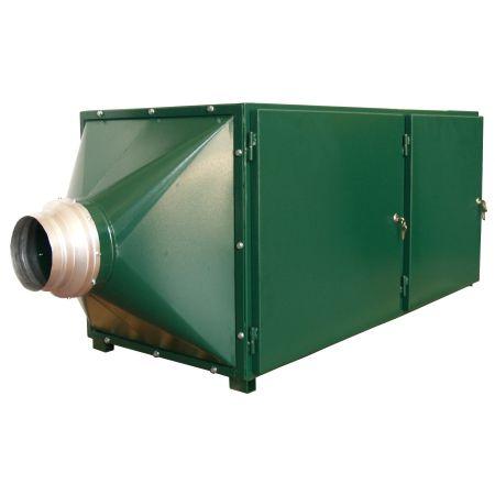 Aktivkohlefilteranlage / Druckluft / Staub