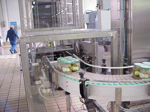 Hebevorrichtung für die Lebensmittelindustrie