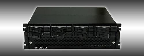 Videorekorder / für Videoüberwachung / Alarm / für Industrieanwendungen