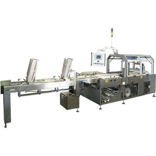 automatische Verpackungsmaschine / Schrumpffolien / horizontal / mit hohem Durchsatz