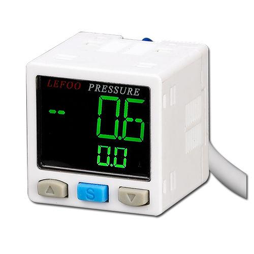 Druckschalter für Luft / elektronisch / mit Digitalanzeige / Hochpräzision