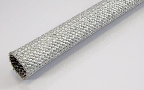 Thermoschutzhülle / Geflecht / für Kabel / Glasfaser