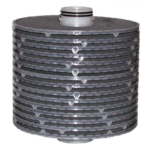 Wasserfilterpatrone / für Feinfilterung / Carbon / Scheiben