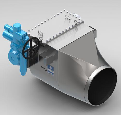 Kolbenventil / mit Handrad / zum Absperren / für Gas