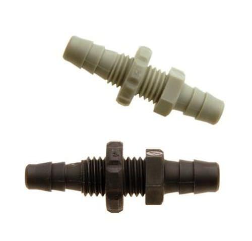 geriffelter Anschluss / gerade / pneumatisch / Polypropylen