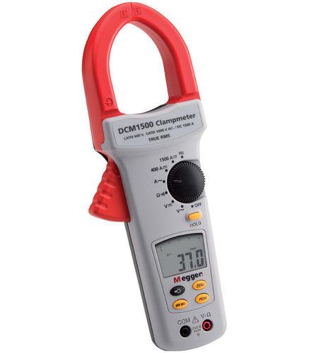 digitales Stromzangen-Multimeter / tragbar / 1000 V / cat IV
