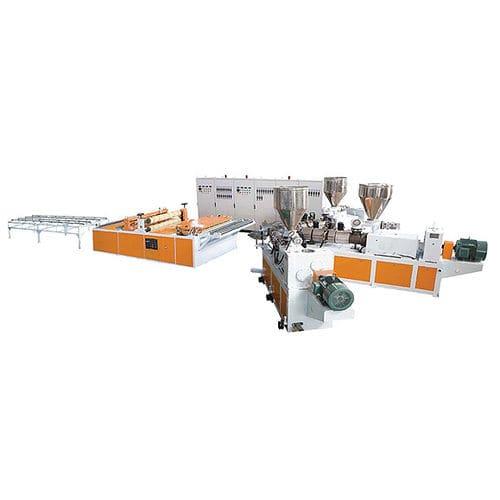 Plattenextrusionsanlage / für PVC / Mehrschicht / Einschicht