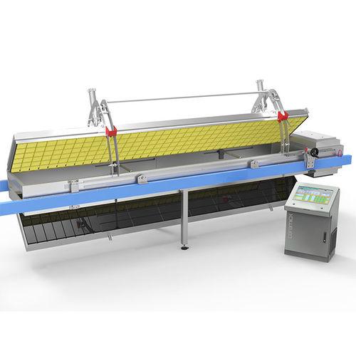 Inline-Thermoformmaschine / Kunststofffolien / Twin-Sheet-Platten / für Lebensmittelverpackung