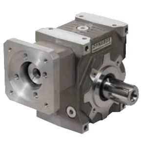 Schnecken-Servogetriebe / Winkelumlenkung / für Kraftübertragungen