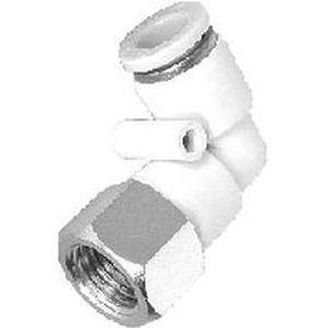 Innengewindeanschluss / Schnell / 90°-Winkel / pneumatisch