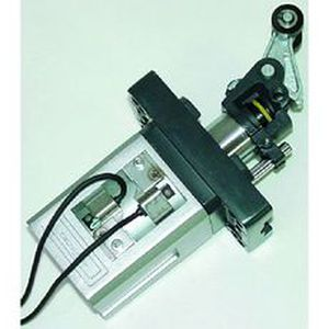 Stopperzylinder / pneumatisch / Federrückstellung / Doppel