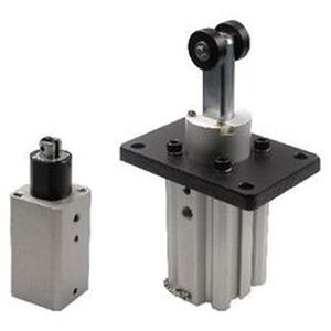 Stopperzylinder / pneumatisch / einfach / mit Federrückstellung
